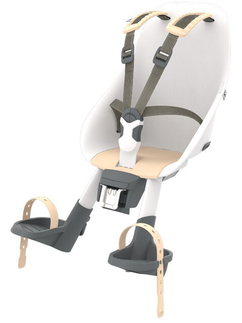 Urban Iki Child Seat Kids Bicycle Seat Front head tube mounting beige